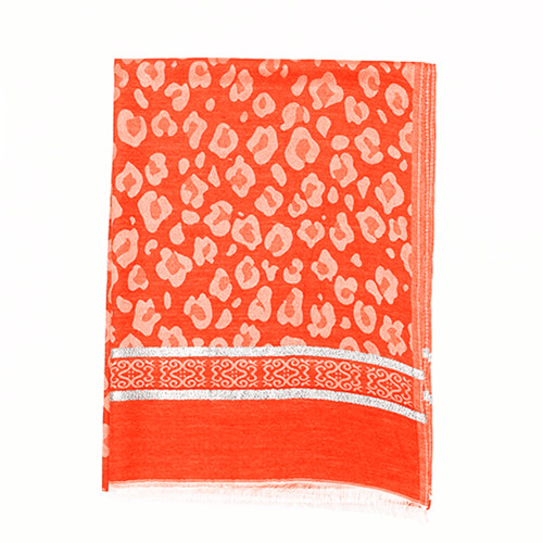 Orange and Spots Scarf