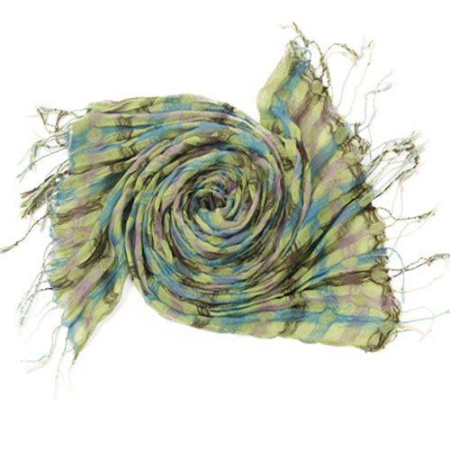 Green Candy Scarf