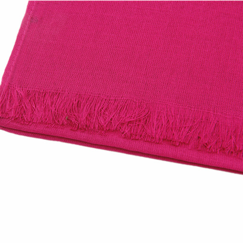 Pink Candy Shimmer Solid Scarf